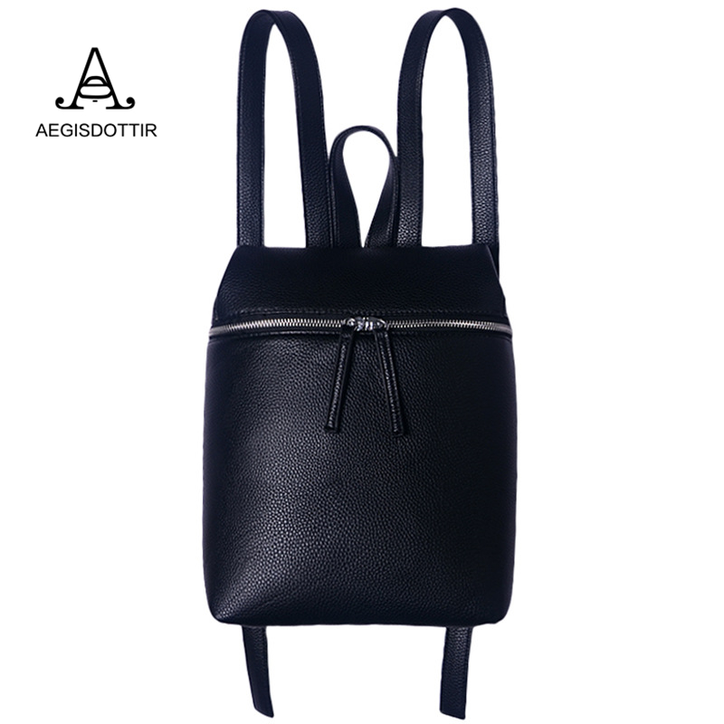 Unique Design Women White Black Travel PU Leather Backpacks Ladies Female Backbag Bagpack Mochila Feminina Sac Femme Rucksack
