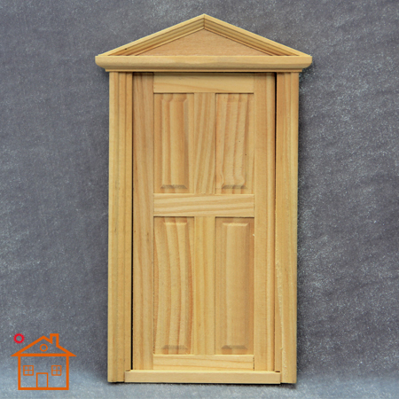 112 doll house DIY mini handmade door model diy cabin mini house doors wood & 1:12 doll house DIY mini handmade door model diy cabin mini house ...