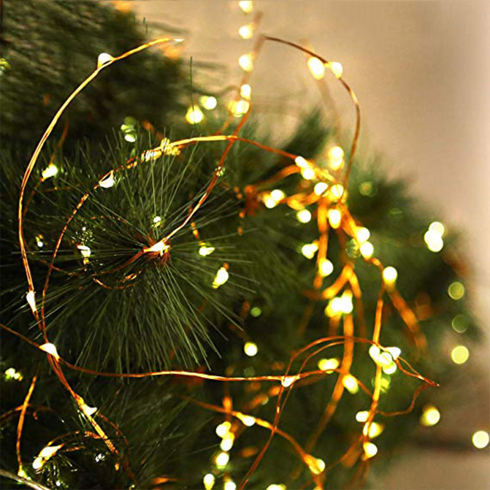 10M 100 LED Solar Copper Wire Christmas Tree Led String Fairy Light Xmas Party Home Wedding Garden Garland Christmas Decorations10M 100 LED Solar Copper Wire Christmas Tree Led String Fairy Light Xmas Party Home Wedding Garden Garland Christmas Decorations