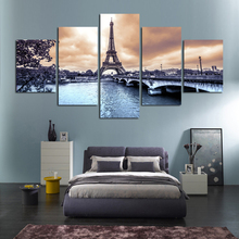 5pcs DIY Diamond Painting Paris scenery Full Square Embroidery Mosaic Picture Of Rhinestone H336