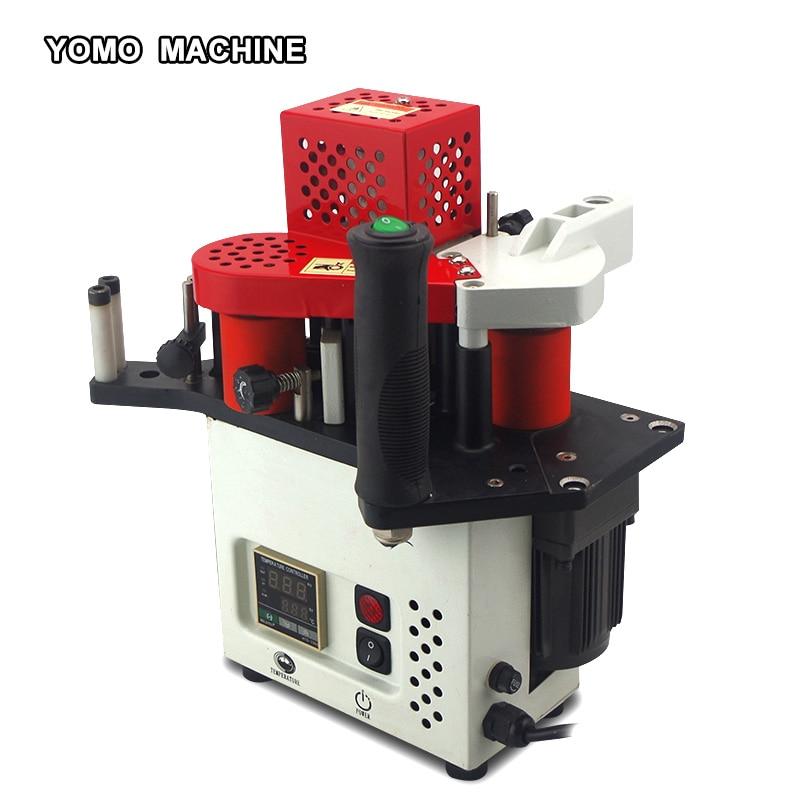 free shipping KM-08 portable edge banding machine woodworking PVC edge bander 110V/220V
