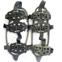 24 зубы по ледяным скалам! Обувь Для женщин Для мужчин на нескользящей подошве для альпинизма! с помощью этой ледяным скалам! Спайк Зажимы для «Холодное сердце», для скалолазания, Прямая поставка