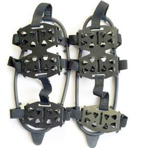 Ice-Gripper Cleats Shoes Crampons Non-Slip Ice-Snow-Climbing Women 24-Teeth