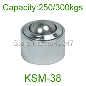 Ahcell 38mm steel ball KSM-38 bearing heavy duty car casters Pop up maverick eye round transfer unit omni wheel universal wheel
