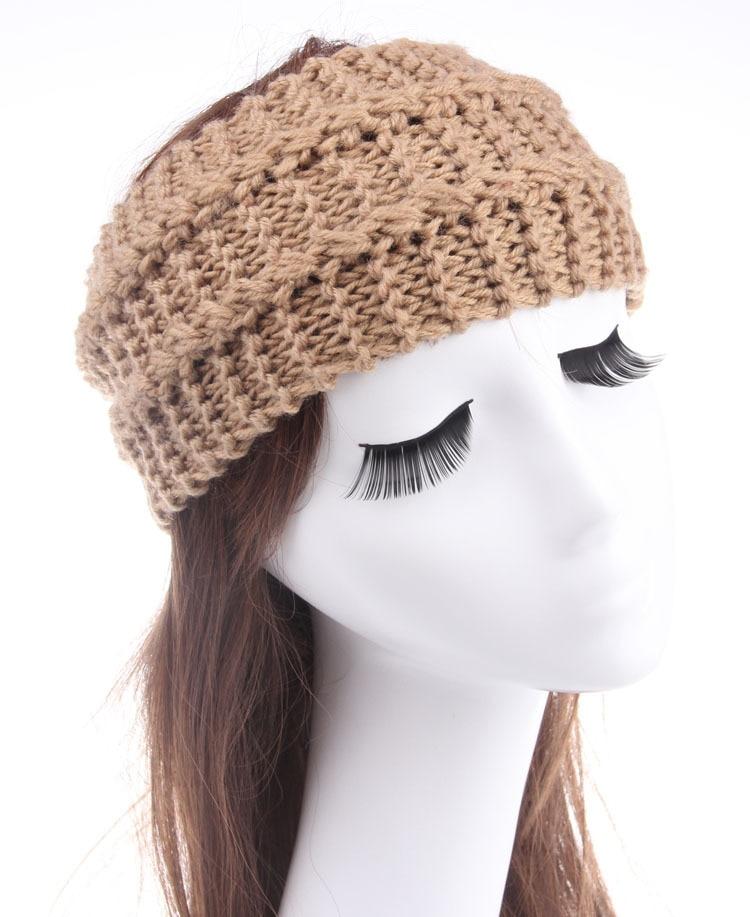 Knitted Turban Headband Crochet Headband Pattern Women Hair ...