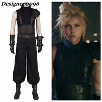 Game cosplay Final Fantasy VII Remake Anime Cosplay Costume Cloud Strife Combat Clothes Halloween Costume Adult High Quality
