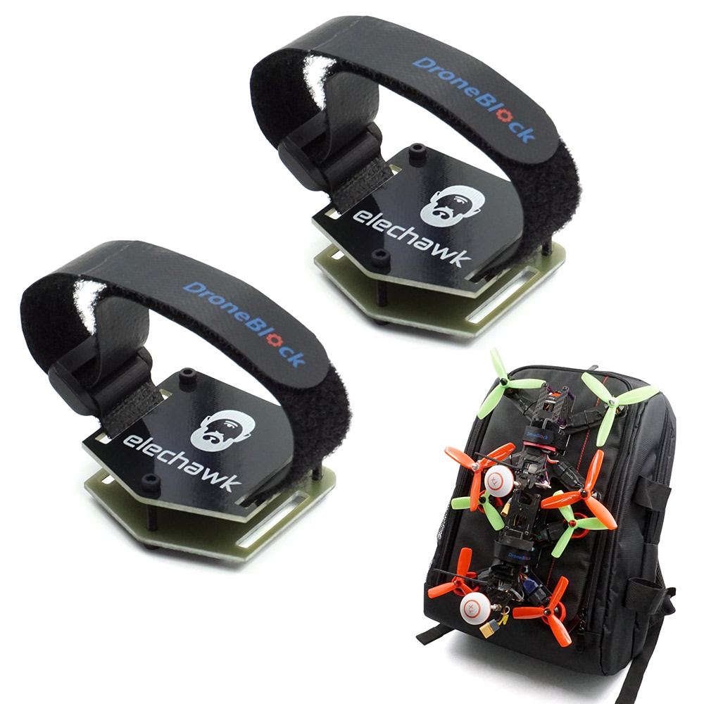 FPV Racing Drone Backpack Plug-in Accessories Bundle Mount Upgrade Parts Strap Carrying Parts Quadcopter Case Bag With Strap