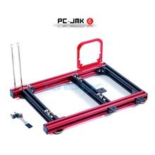 цена на QDIY PC-JMK6 MicroATX Aluminum Alloy Horizontal Full Open Computer Case Chassis