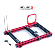QDIY PC-JMK6 MicroATX Aluminum Alloy Horizontal Full Open Computer Case Chassis
