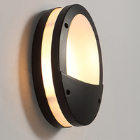 IN JUICY Outdoor Waterproof Staircase Aisle Acrylic Wall Lamp LED Exterior Courtyard Wall Light Balcony Garden Wall Sconce