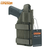 Spanker New Tactical Universal Pistol Ammo Clips Outdoor Hunting Equipment Bags Military 1050D Nylon Molle Magazine