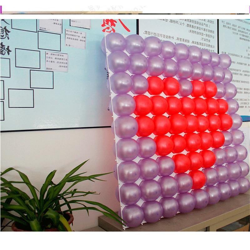 2018 Nieuwe Ballon Helium 50 stks / partij Latex Ballon Mesh Plastic - Feestversiering en feestartikelen - Foto 5