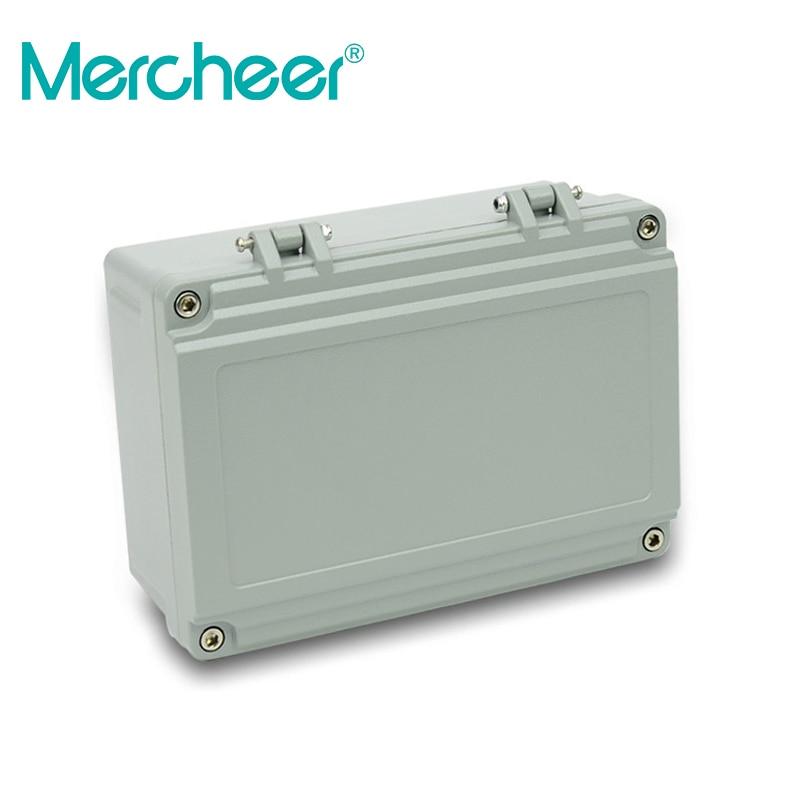 Free Shipping 1piece /lot Top Quality 100% Aluminium Material Waterproof Ip66 Standard Aluminium Box Design 220*155*95mm Connectors