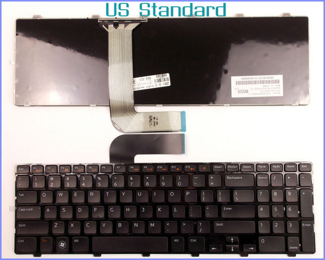 Laptop Keyboard For Dell Inspiron 15R N5110 5110 M5110 04DFCJ US Version
