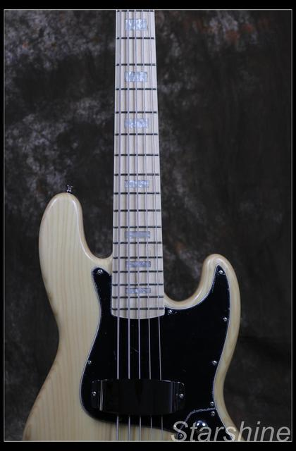 Jazz Bass 5 String Bass Guitar Z-ZV4 light ASH Body - Free Shipping  1
