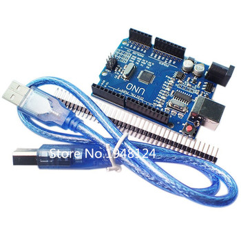 UNO R3 MEGA328P CH340 CH340G for Arduino UNO R3 + USB CABLE uno r3 ch340g mega328p smd chip 16mhz for arduino uno r3 development board usb cable atega328p one set