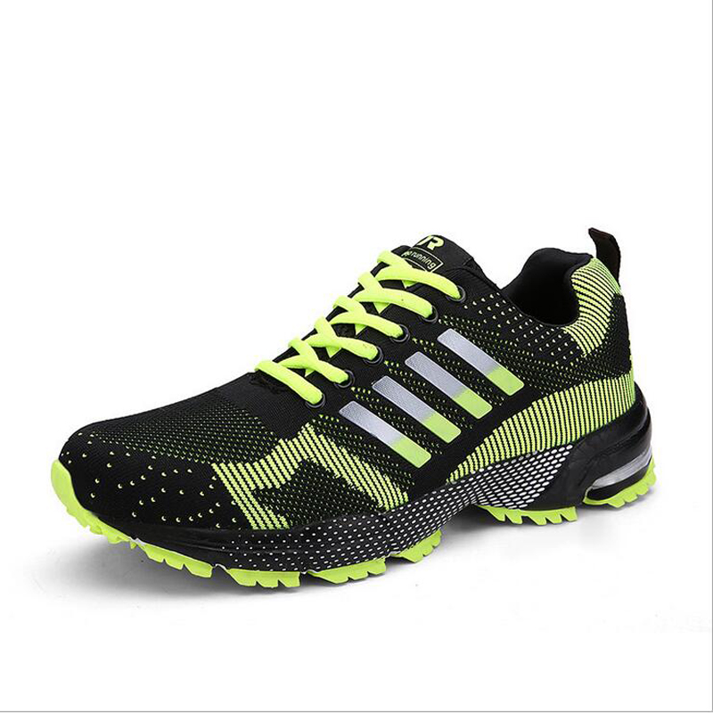 2016 spring lovers running shoes jogging sneakers Fly Weave outdoors low cut sneakers air mesh walking jogging lover zapatillas