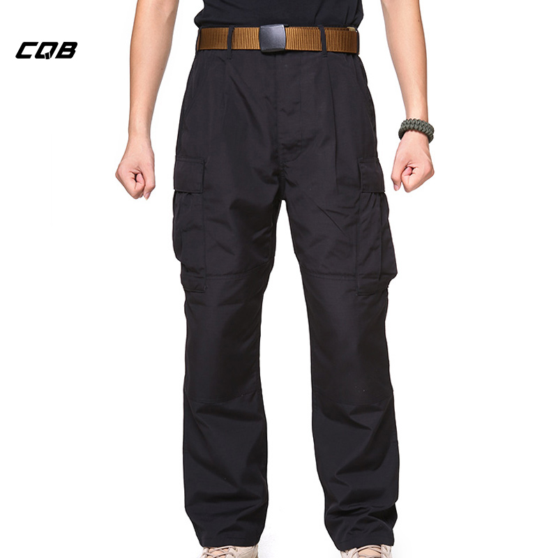CQB Outdoor Sports Tactical Military Men's Pants Wear-resisting Loose Breathable Waterproof Overalls for Trekking Hiking Pants цена 2017
