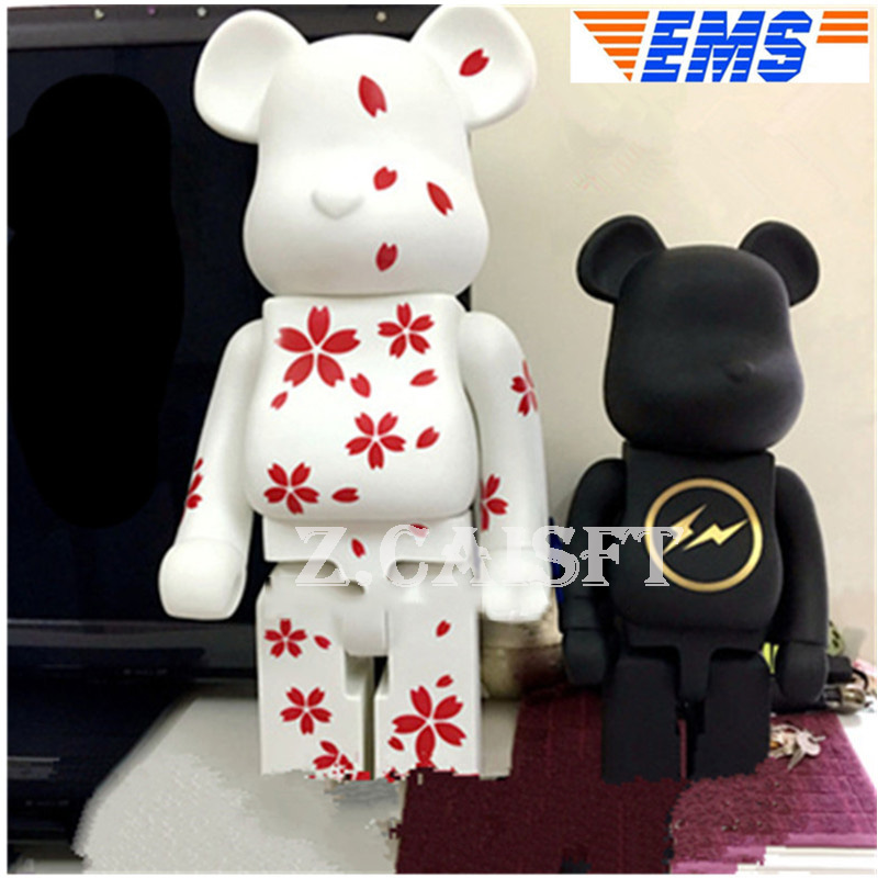 Toys & Hobbies Be@rbrick400% Bear Bearbrick Love Gloomy Bear Art Craft Vinyl Action Figure Holiday Gift Collectible Model Toy 28cm N328