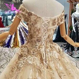 Image 5 - AIJINGYU Bruiloft Aliexpress Overwinnen Betaalbare Met Mouwen IK Eenvoudige Jurken Voor Bruid Liefde Verbazingwekkende Bridal Jurken