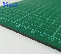 Pvc Self Healing Cutting Mat With Grid A4 Craft Dark Green Patchwork Tools Double Sided Cutting