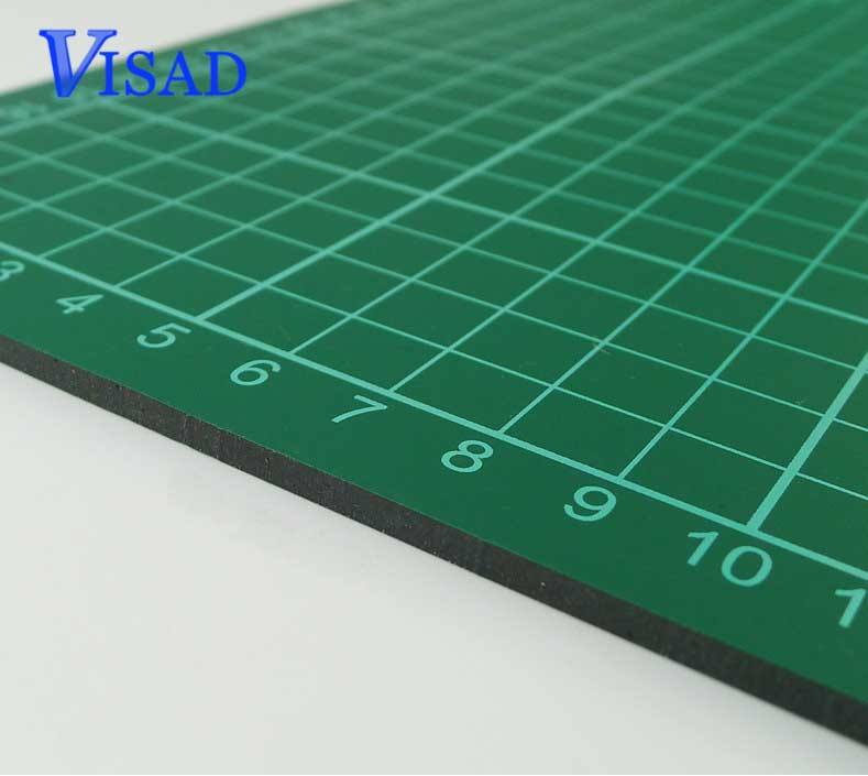 Pvc Self Healing Cutting Mat With Grid A4 Craft Dark Green Patchwork Tools Cutting Board Double Sided Cutting Pad Free Shipping