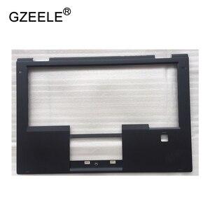 GZEELE New case For Lenovo FOR Thinkpad X1 Yoga Keyboard Bezel Palmrest Cover SB30K59264 00JT86 with Fingerprint Hole upper