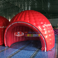 Custom Advertising air dome inflatable tent,Music show stage inflatable igloo tent