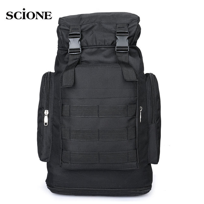 Camping Backpack Molle Tactical Military Rucksack Outdoor Bags Waterproof Hiking Hunting Travel Backpacks Camouflage Bag XA419WA nylon tactical military backpack rucksack bags assault pack daypack waterproof hiking camping outdoor sport travel trekking bag