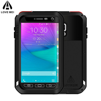 For Samsung Galaxy Note Edge Powerful Aluminum Metal Case Rugged Armor Shockproof Original Cover For Galaxy