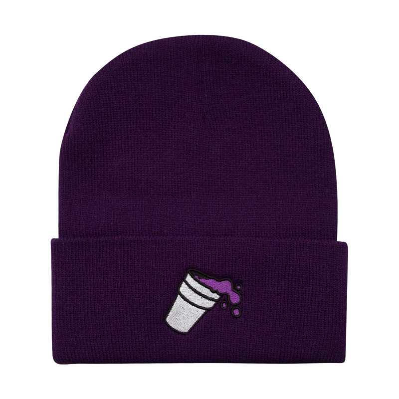Double Cup Casual Cotton Beanies For Men Women Fashion Knitted Winter Hat Solid Color Hip-hop Skullies Bonnet Unisex Cap Gorro