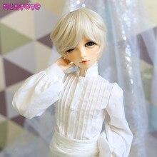 MUZIWIG bjd 1/3 1/4 синтетический светильник Золотой Блонд стиль для мальчиков красивый короткий кукольный парик волосы для SD парики для кукол аксессуары