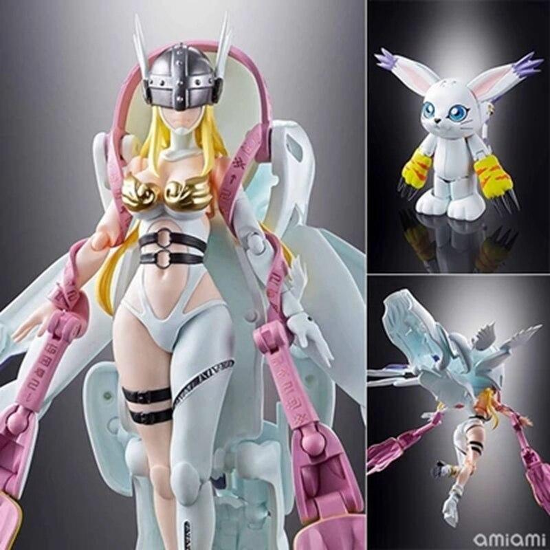 WSTXBD BANDAI Tamashii Nations Digivolving Spirits 04 Angewomon Action Figure Figurals Toys Dolls Brinquedos цена и фото