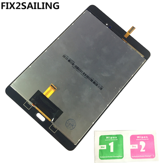 LCD Display with Touch Screen Digitizer Sensors Full Assembly Panel Replacement For Samsung GALAXY Tab  A SM-T350 T350 T351 T355