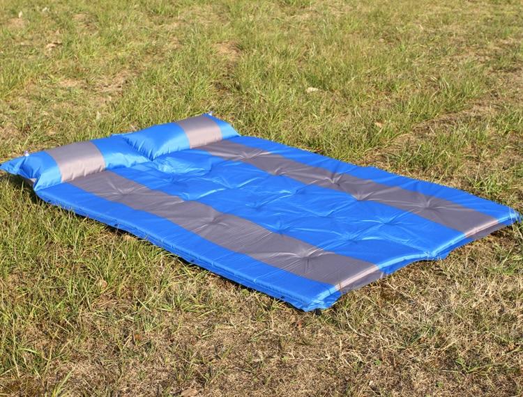 2017 Doble persona 190 * 130 * 5 cm colchón inflable Colchoneta de - Camping y senderismo