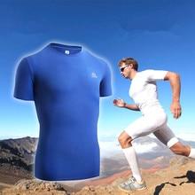 AONIJIE Summer Men's Outdoor Sport T-shirt Gym Short Sleeved Jersey Breathable Running Basketball
