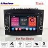 Liislee For Fiat Doblo Stereo Android Radio Audio CD DVD Player BT Wifi GPS MAP NAV