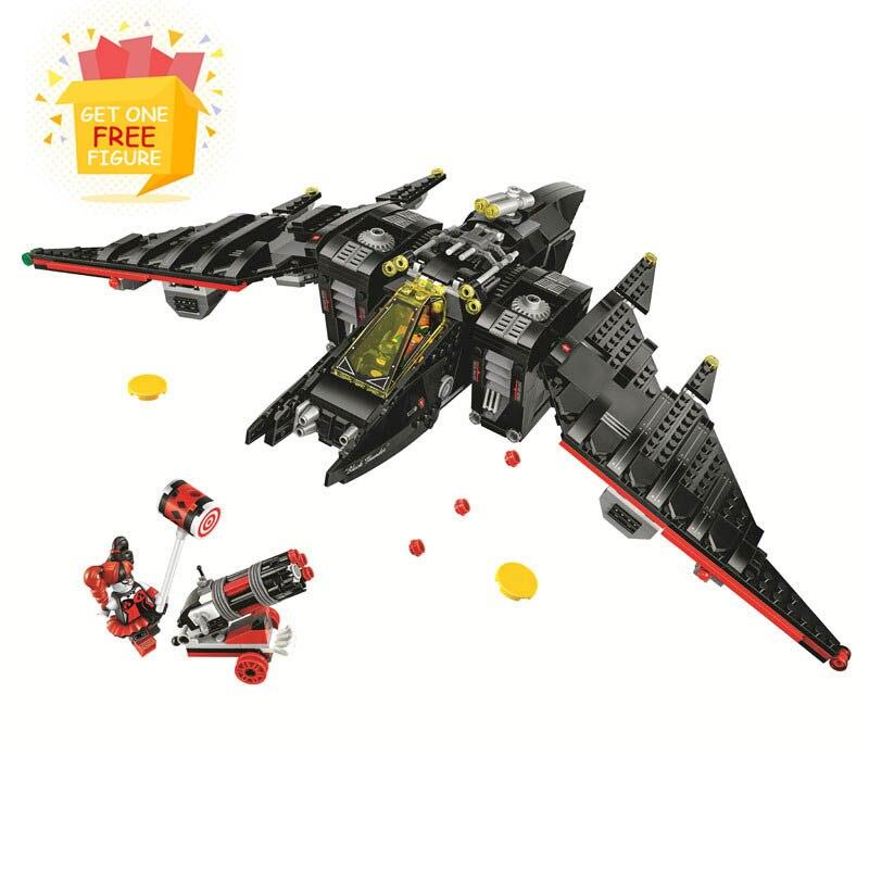 цена на Bela Compatible Legoe 10739 Batman Movies Batwing DC Comics Justice League Super Heroes Building Blocks Bricks Toys Marvel Gifts