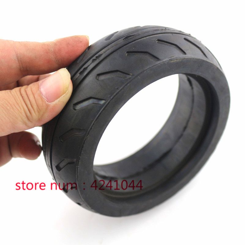 Free Shipping 5 Inch Solid  Tire For  Balancing Car, Electric Skateboard , Trolley Cart , Baby Carriage 5 Inch  Rubber Tyre