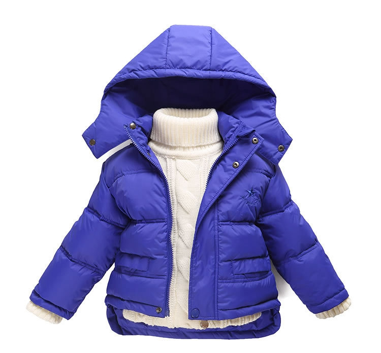 Fashion 80% Eiderdown Baby Girl Winter Coat Newborn Snowsuit For Baby Boys Duck Down Outerwear Clothes For Children Jackets (5)