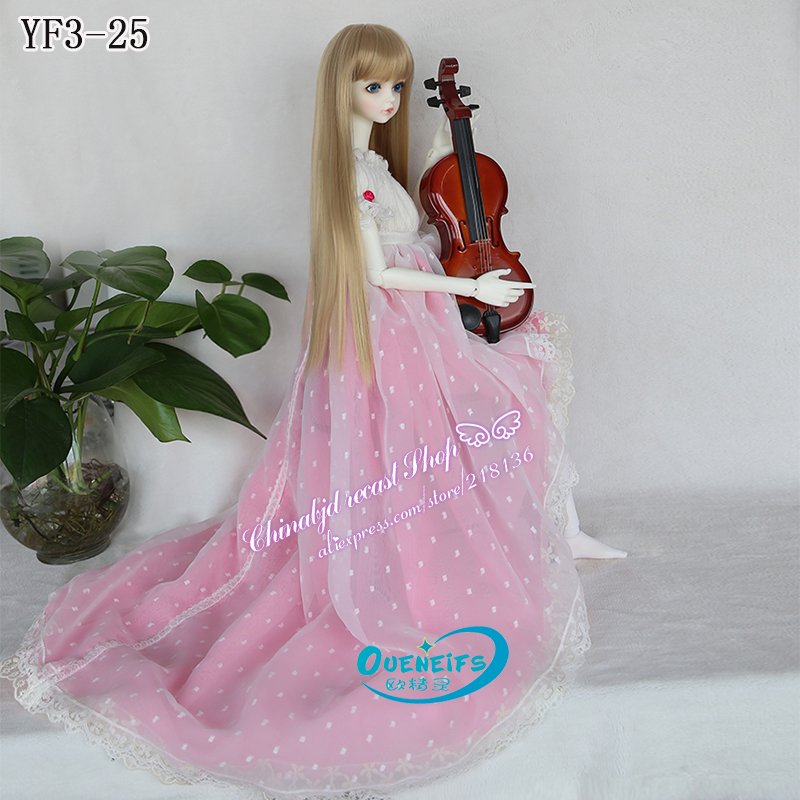 OUENEIFS free shipping girl long skirt girl body send stocking1/3 bjd sd doll clothes have not wig or doll
