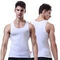 AOMLEMENT Brand Cotton Solid Underwear Mens Sleeveless Comfortable Undershirt Mens Undershirts ropa hombre ondergoed mannen body