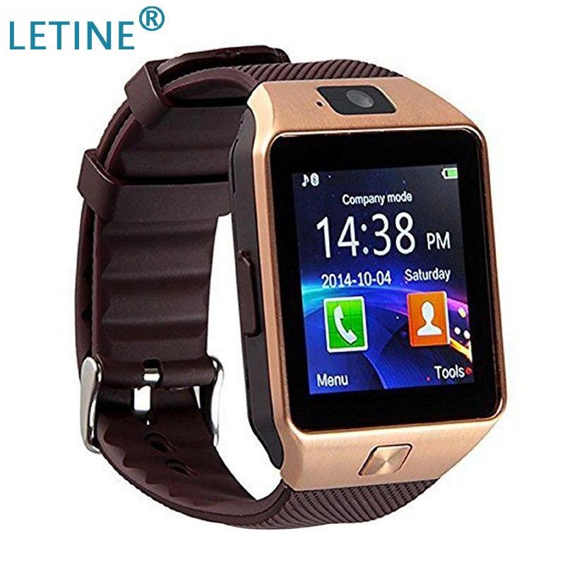 Letine DZ09 Q18 スマートウォッチ DZ 09 スマートウォッチ 2019 男性女性腕時計 sim 接続のためのフランス Smartfone アンドロイド携帯電話