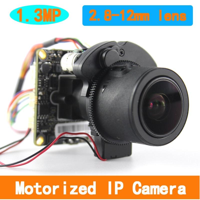 1/3 CMOS Aptina AR0130 lowillumination 1.3MP 2.8-12mm Motorlu Zoom IP Kamera Kurulu Kamera1/3 CMOS Aptina AR0130 lowillumination 1.3MP 2.8-12mm Motorlu Zoom IP Kamera Kurulu Kamera