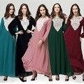 2016 Абая Турецкий Abayas Исламская Одежда Для Женщин-Мусульманок Кафтан Djellaba женская Национальная Аравия Новый Свободные Платья Оптовая