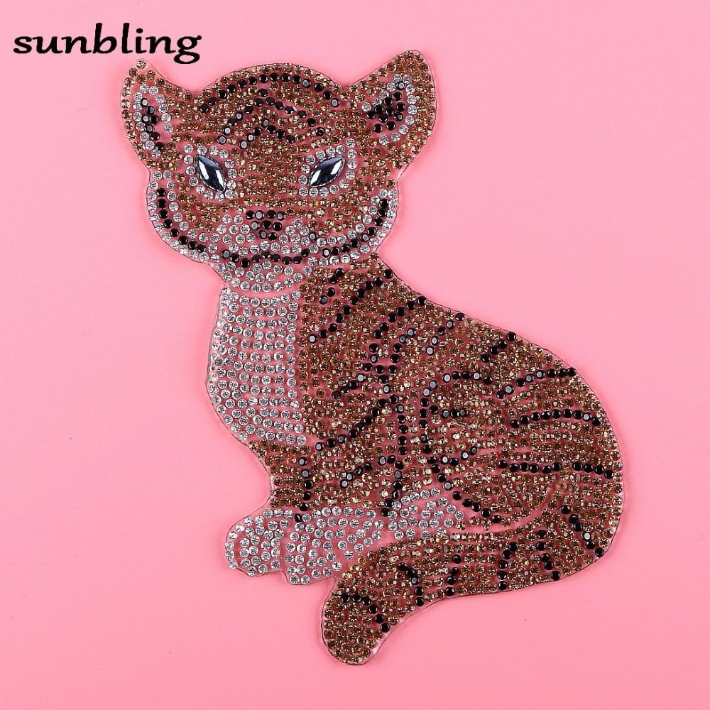 novi modni DMC pločice za rhinestone custom tiger dizajn karakter - Umjetnost, obrt i šivanje