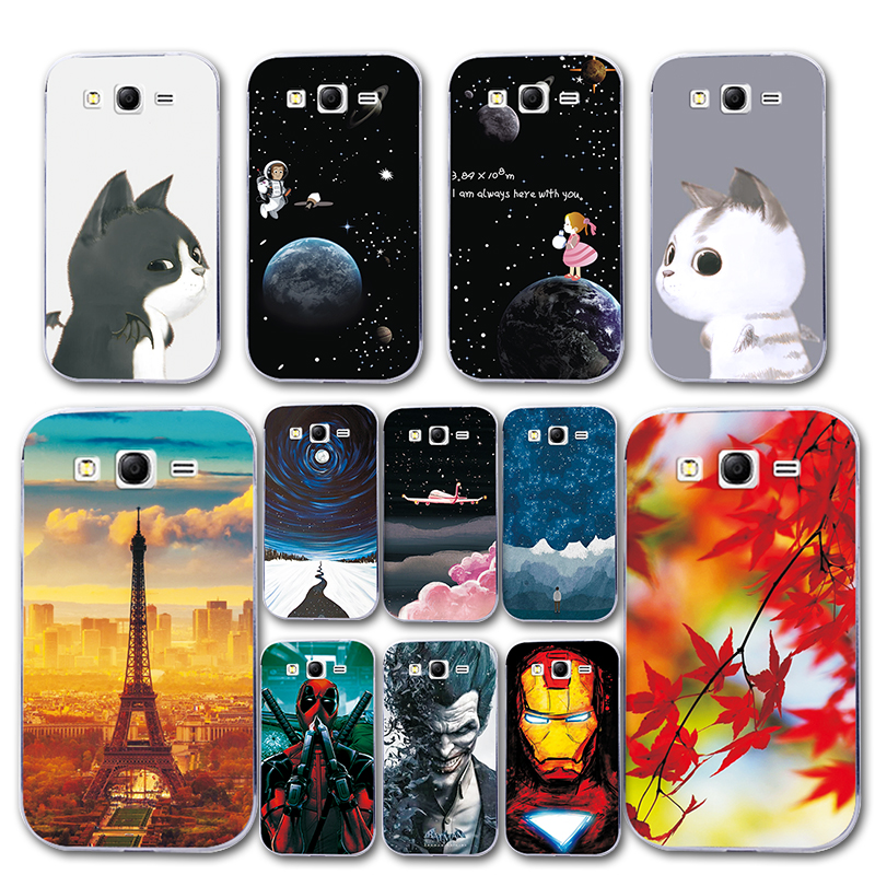 Fitted Cases Cellphones & Telecommunications Phone Case For Samsung Grand Neo Plus I9060 5.0 Cover Silicone Novelty For Galaxy Grand Neo Plus I9060 Spiderman Capa Fundas