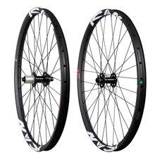 All mountain wheelset 27.5ER with ICAN logos black bit hub carbon fiber 2015 China AM 275-35-TL