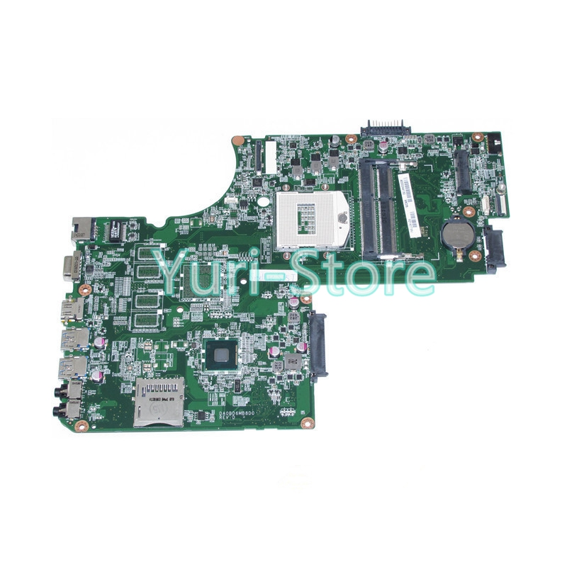 NOKOTION DA0BD6MB8D0 A000244130 Main Board For Toshiba Satellite S75 S75T Laptop motherboard HM86 HD4000 DDR3 nokotion for toshiba satellite l840 l845 laptop motherboard main board ddr3 daby3cmb8e0 a000174140 hd7670m 1gb