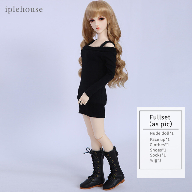Free Shipping Iplehouse Violet JID BJD Dolls IP 1/4 Fashion High Quality Resin Figure Toy For Girls Best Gifts Dollshe 4